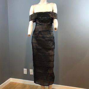 "NWT Rachel Gilbert ""Zanita"" Dress Size 6 $1150"